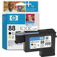 Печатная головка HP No.88 OJPro K550 Black, Yellow Печатающая головка (чёрная и жёлтая) для (C9381A)