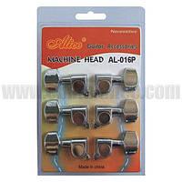AL016P Механика одинарная для акустической гитары (комплект)