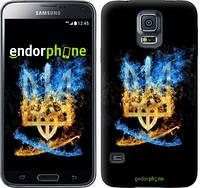 "Чехол на Samsung Galaxy S5 Duos SM G900FD Герб ""1635c-62"""