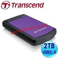 "Внешний жесткий диск TRANSCEND 2TB TS2TSJ25H3P Storejet 2.5"" H3 USB 3.0 (TS2TSJ25H3P)"