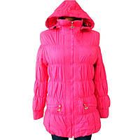 Куртка женская размер S розовая