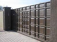 """Ворота филенчатые """"шоколадка"""", фото 1"""