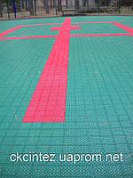Модульное покрытие для спортивных площадок