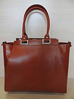 Красивая  деловая сумка женская  кожаная. Италия, фото 1