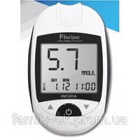 Глюкометр Finetest Premium (Файнтест Премиум) + 100 тест-полосок