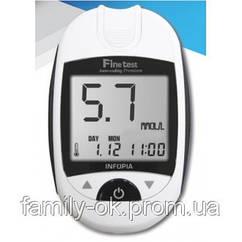 Глюкометр Finetest Premium (Файнтест Премиум)  стартовый комплект 25 тест-полосок