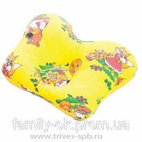 ТОП-110. Подушка ортопедическая для младенцев с 28 дня жизни ребенка до года