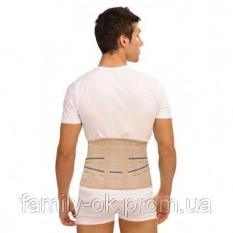 Корсет ортопедический анатомический (хлопок-53%) (4 модулируемых ребра жесткости,ширина 25 см) Тривес Т-1585