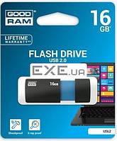 """Флeш пам""""ять USB 2.0 16GB USL2 Sl!de Blue (USL2-0160K0R11)"""