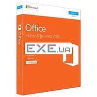Офисный пакет Microsoft Office 2016 для дома и бизнеса 32/ 64 English для 1 ПК Коробочна (T5D-02710)