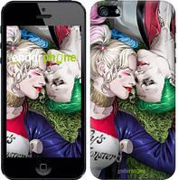 """Чехол на iPhone 5 Джокер и Харли Квинн v2 """"3806c-18"""""""