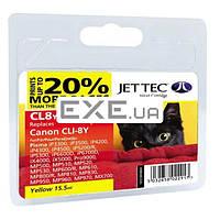 Картридж Jet Tec для Canon CLI-8Y Yellow (110C000804)