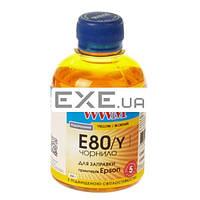 Чернила WWM EPSON L800 Yellow (E80/Y)