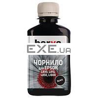 Чернила BARVA EPSON L800/ L810/ L850/ L1800 (T6641) 180г BLACK (L800-409)