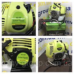 Бензокоса Grune Garten GG-450; Германия, поршень 49, мощность 4,5 Квт, 2 ножа 2 паука