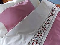 Детское постельное белье с вышивкой Барвинок сатин