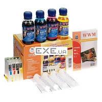Комплект перезаправляемых картриджей WWM Epson C79/ CX3900/ 9300F/ TX200/ 419/ T40W ELECTRA (RC.T073NU)