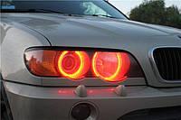 CCFL Ангельские глазки на BMW Е53  Красные, синие, желтые