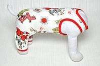 """Костюм """"Щенки"""" размер S (24см) Vip Doggy из детского трикотажа"""
