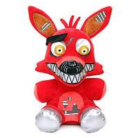 Мягкая игрушка Пять ночей с Фредди кошмарные аниматроники Фокси Foxy 25 см FNAF48-53