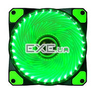 Вентилятор Cooling Baby 120x120x25мм BB, 22дБ, 12V, 1000 об/ мин, 3-pin+4-pin (Mole (12025BGL Green)