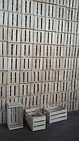 Ящик шпоновый (деревянный) для яблок