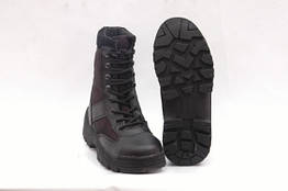 Ботинки Security MIL-TEC Black