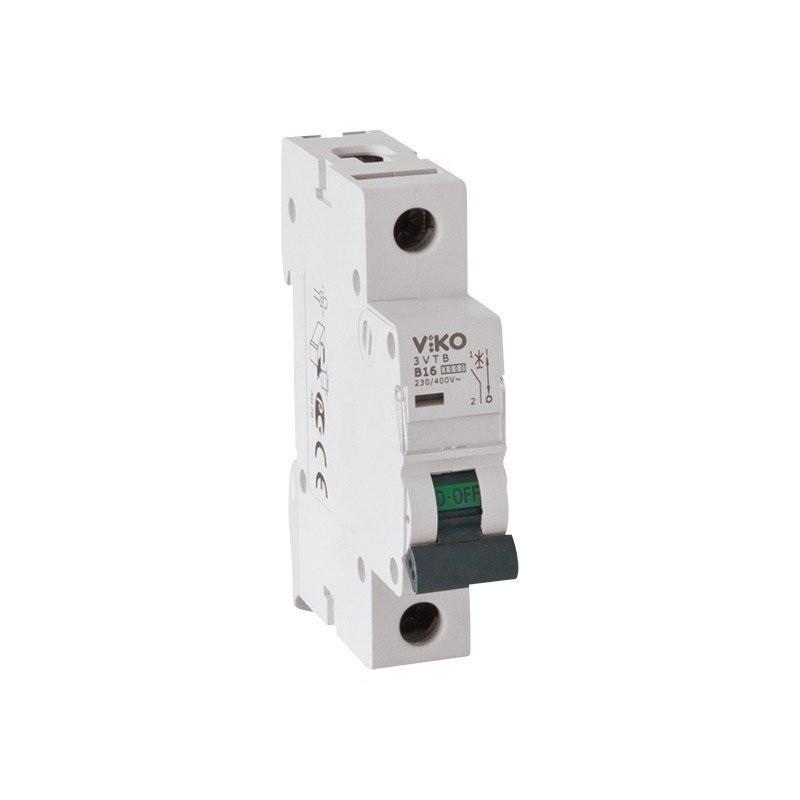 Автоматичний вимикач 1р, 25А, С, 4,5 кА VIKO