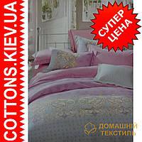 Двуспальное евро постельное белье с зимнего бамбукового волокна Сказка ТМ Kunmeng