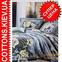 Двуспальное евро постельное белье с макосатина Искусство ТМ Kunmeng