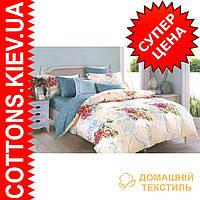 Комплект двуспального евро сатинового постельного белья Элегант ТМ UG