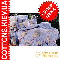 Двуспальное евро постельное белье с египетского хлопка Визион ТМ Kesar Polo