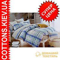 Комплект двуспального евро сатинового постельного белья Красивая ТМ UG