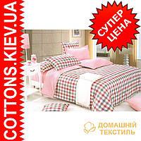 Комплект двуспального евро сатинового постельного белья Барби ТМ UG