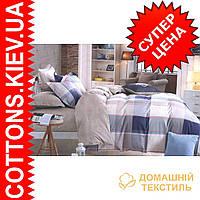 Комплект двуспального евро сатинового постельного белья King ТМ UG