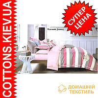 Комплект двуспального евро сатинового постельного белья Милая ТМ UG