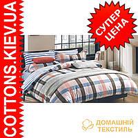 Комплект двуспального евро сатинового постельного белья Стиляга ТМ UG