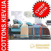 Комплект двуспального евро сатинового постельного белья Шедевр ТМ UG