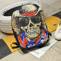 Городской рюкзак с Черепом
