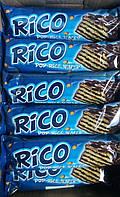Шоколадный вафельный батончик Rico с воздушными рисовыми криспи