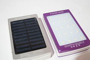 Power bank  9186 30000mh с Led панелью и солнечной батареей