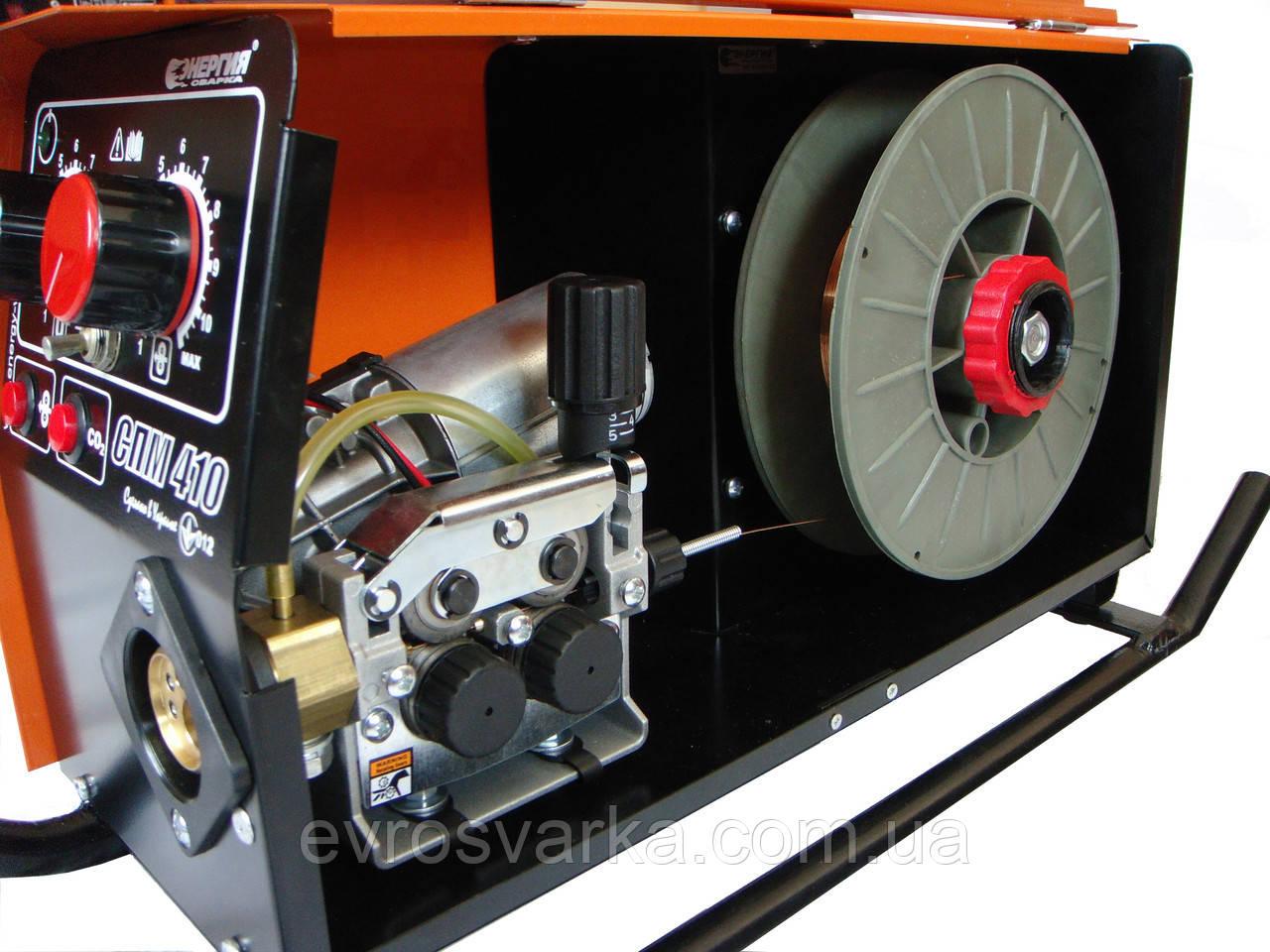 Механизм подачи проволоки СПМ-410