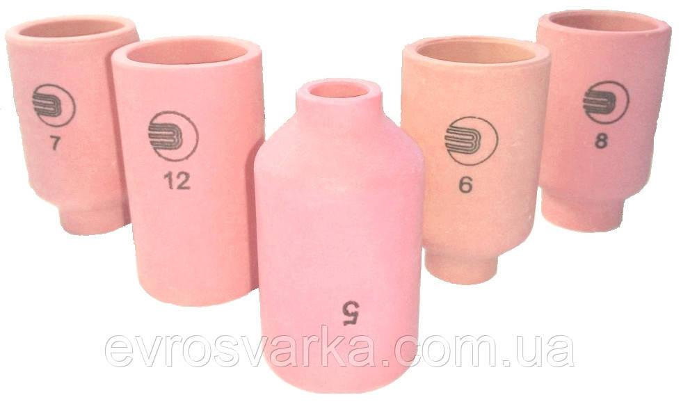 Керамическое сопло № 6 (NW 9,5 мм / L 42,0 мм) ABITIG 18SC