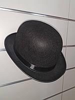 Котелок черный (Шляпа- котелок)