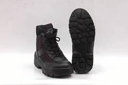 Ботинки высокие SECURITY HALBSTIEFEL Black