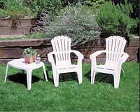 Кресло садовое Dolomiti белое