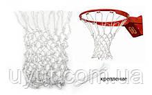 Сетка баскетбольная Игровая UR (полиамид, d-3,5мм)