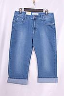 Женские джинсовые капри большого размера