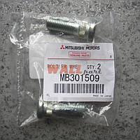 Болт (Шпилька) передней ступицы MB301509, Pajero Sport, Pajero Wagon 2, L200 Old, L300 Mitsubishi