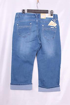 Женские джинсовые капри большого размера, фото 2